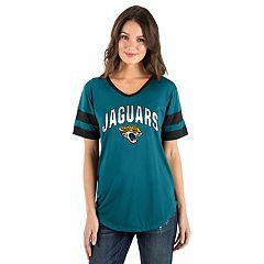 Women's New Era Jacksonville Jaguars Jersey Tee