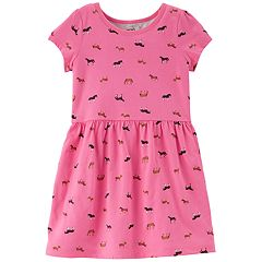 Toddler Girl Carter's Printed Dress