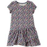 Toddler Girl Carter's Shirred Skater Dress