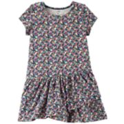 Toddler Girl Carter's Shirred Skater Dress