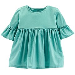 Toddler Girl Carter's Bell Sleeve Shirred Top