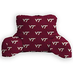Virginia Tech Hokies Bed Rest Pillow