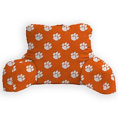 Clemson Tigers Bed Rest Pillow