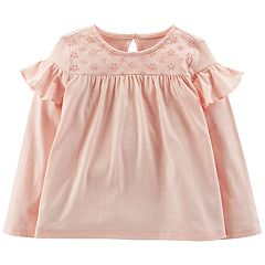 Toddler Girl OshKosh B'gosh® Eyelet & Ruffle Tee