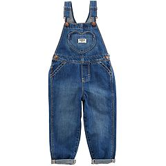Toddler Girl OshKosh B'gosh® Heart Pocket Overalls