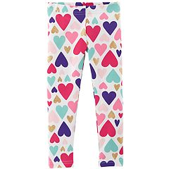 Toddler Girl Carter's Patterned Leggings