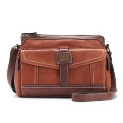 Concept Morgan Two-Tone Accordion Organizer Crossbody Bag