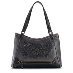 Concept Millstone Floral Tooling Satchel