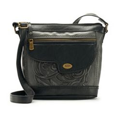 Concept Millstone Floral Tooling Crossbody