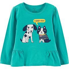 Toddler Girl Carter's Shirred Top