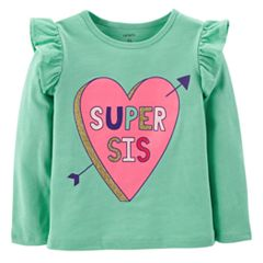 Toddler Girl Carter's Flutter Sleeve Top
