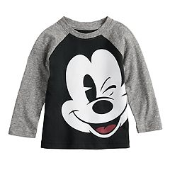 Disney's Mickey Mouse Baby Boy Raglan Graphic Tee by Jumping Beans®