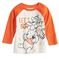 Disney's Winnie the Pooh Baby Boy Raglan Graphic Tee by Jumping Beans®