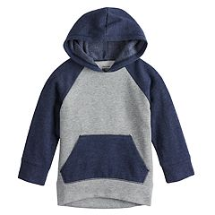 Toddler Boy Jumping Beans® Raglan Softest Fleece Pullover Hoodie