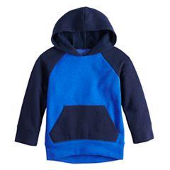 Baby Boy Jumping Beans® Raglan Softest Fleece Pullover Hoodie
