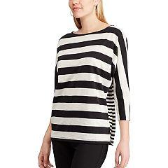 Women's Chaps Striped Dolman Top