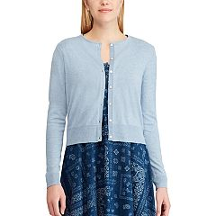 Women's Chaps Cropped Cardigan Sweater