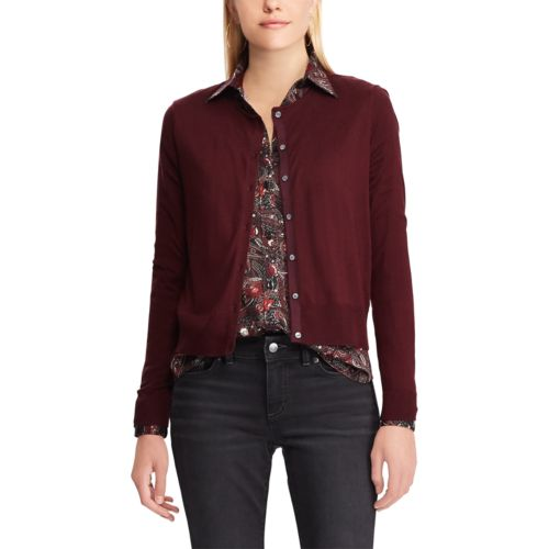 Women's Chaps Cropped Cardigan Sweater by Kohl's