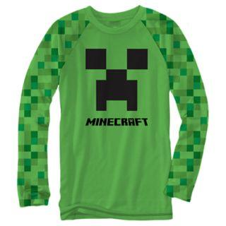 Boys 8-20 Minecraft Creeper Tee