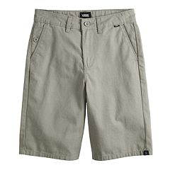 0f506bd96a Boys 8-20 Vans Orderly Shorts. New Dirt Steeple Gray Black. sale