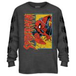 Boys 8-20 Spider-Man Panel Tee