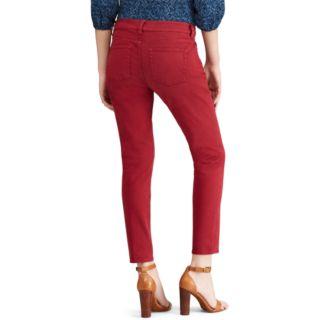 Women's Chaps Slim-Fit Ankle Pants