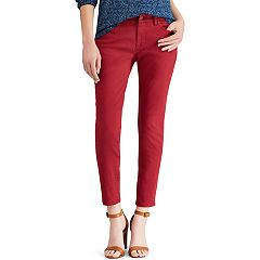 Women's Chaps Slim-Fit Ankle Pants