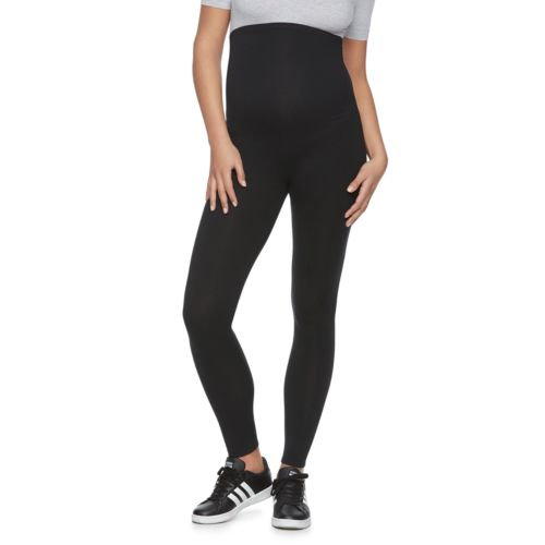 Maternity A:Glow Belly Panel Solid Leggings by Kohl's
