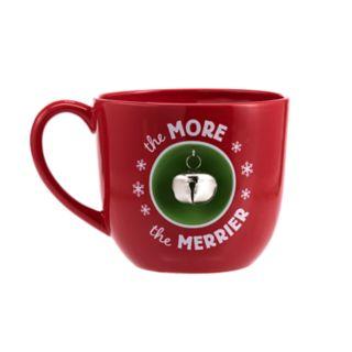 Hallmark The More the Merrier Jumbo Coffee Mug with Bell
