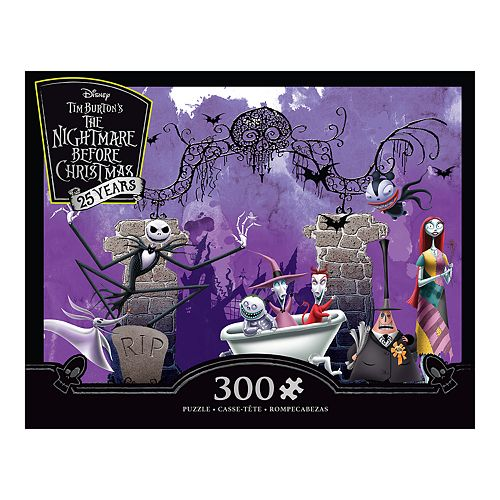 disneys the nightmare before christmas 25th anniversary 300 piece puzzle by ceaco