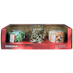SONOMA Goods for Life™ Holiday Candle Sleeve Gift Set