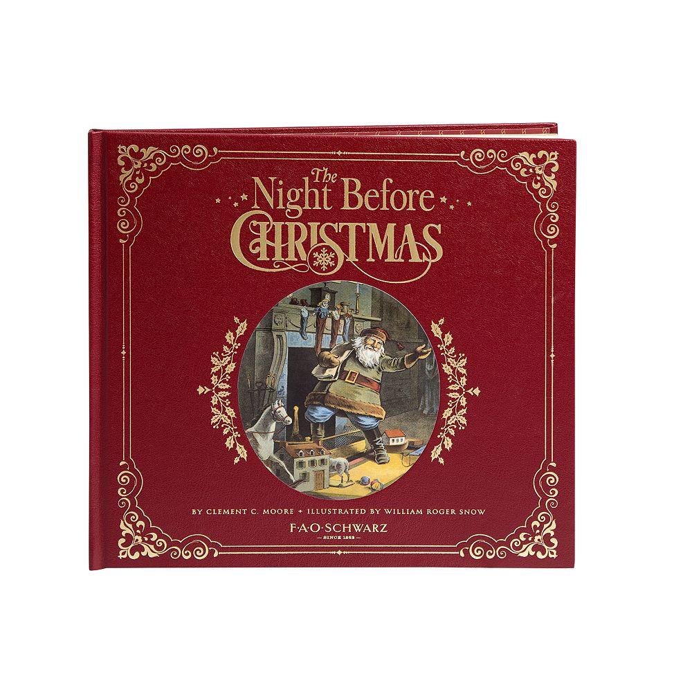 FAO Schwarz A Night Before Christmas  Book
