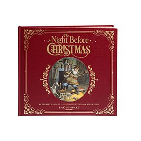 FAO Schwarz A Night Before Christmas  Book