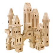 FAO Schwarz 75-Piece Wood Castle Blocks Set