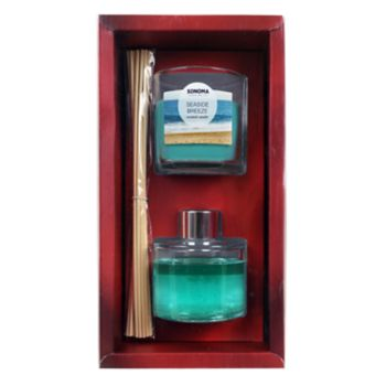 SONOMA Goods for Life? Seaside Breeze Candle Diffuser Gift Set