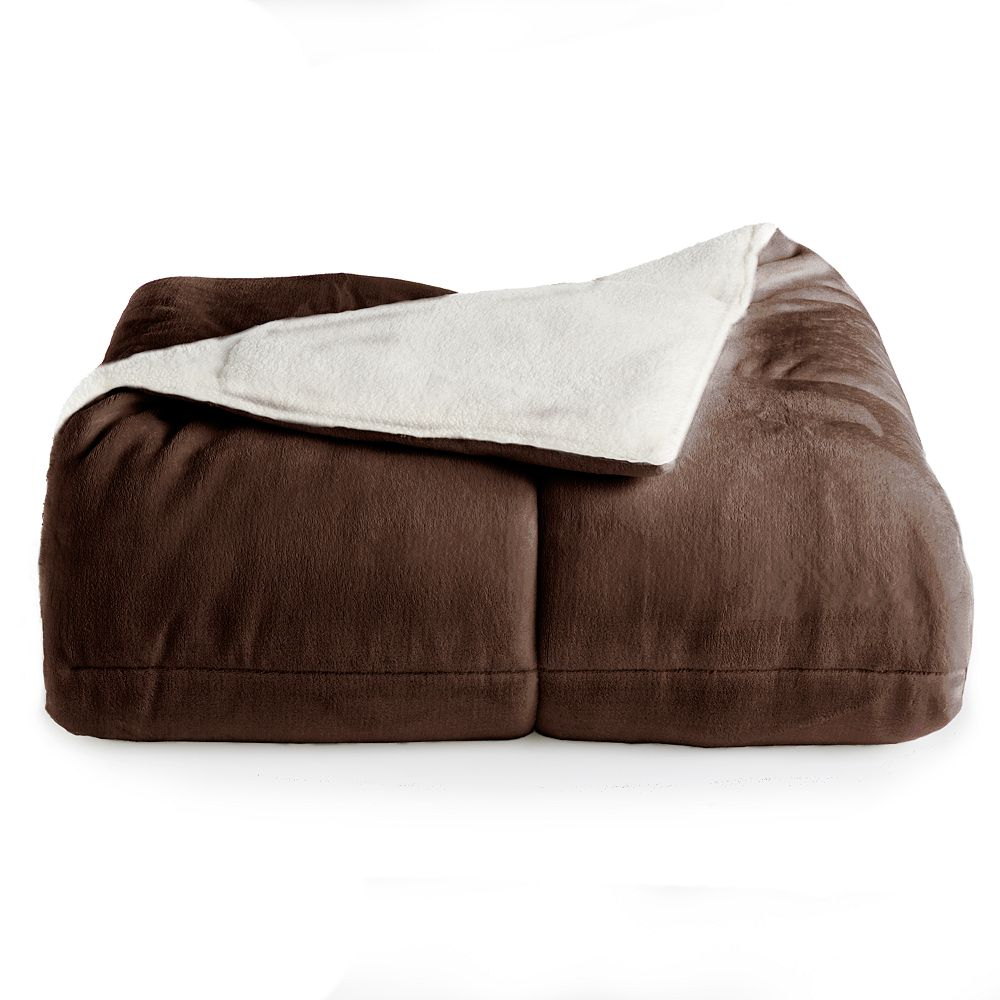 Cuddl Duds® CD Cozy Sherpa Comforter