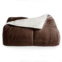 Deals on Cuddl Duds CD Cozy Sherpa Comforter Twin