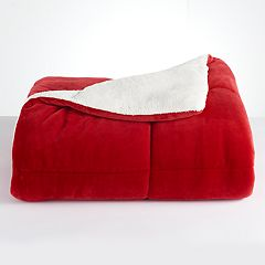 Cuddl Duds CD Cozy Sherpa Comforter