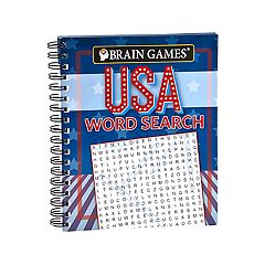 USA Word Search by Brain Games