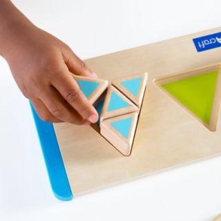 Guidecraft Starter Triangle Fractions Set