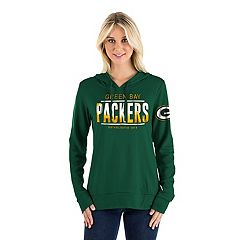 Women's New Era Green Bay Packers Graphic Hoodie