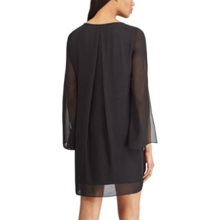 Women's Chaps Lace Bell-Sleeve Dress