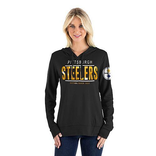 timeless design f7cbe 3eeb2 Women's New Era Pittsburgh Steelers Graphic Hoodie