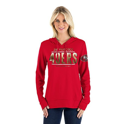 Women s New Era San Francisco 49ers Graphic Hoodie 291dd4bc6