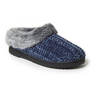 Women's Dearfoams Chenille Knit Clog Slippers