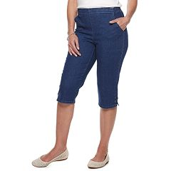 Petite Croft & Barrow® Classic Pull-On Capris