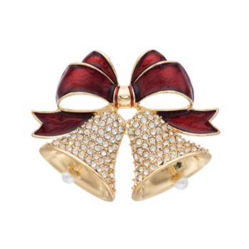 Dana Buchman Holiday  Bells Pin