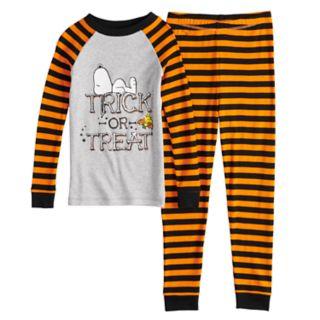 Boys 4-8 Peanuts Snoopy Halloween 2-Piece Pajama Set