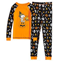 Boys 4-8 Peanuts Snoopy Boo 2-Piece Pajama Set