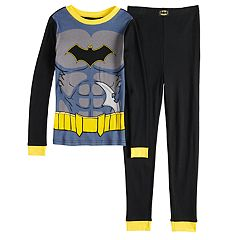 Boys 4-10 Batman 2-Piece Pajama Set